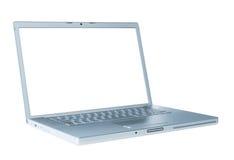 isolerad bärbar dator Royaltyfria Foton