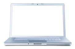 isolerad bärbar dator Arkivbild