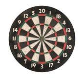 isolerad bana för clipping dartboard royaltyfria foton
