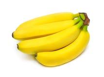 isolerad banangrupp Arkivfoto