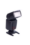 isolerad banaspeedlight för clipping external royaltyfria bilder