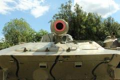 isolerad behållarewhite för armé bakgrund Arkivbilder