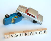 isolerad bilförsäkring arkivfoton