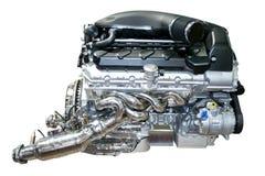 isolerad bilmotor Royaltyfria Foton