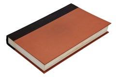 isolerad blank bok Arkivbild
