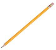 isolerad blyertspenna Royaltyfri Bild
