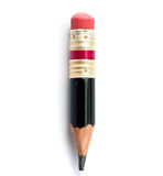 Isolerad blyertspenna Arkivbilder