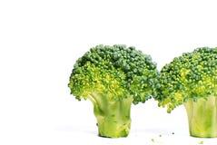 isolerad broccoli Royaltyfri Fotografi