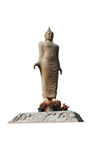 Isolerad Buddhastaty Royaltyfria Foton