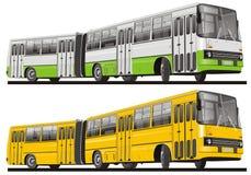 isolerad bussstad Arkivfoto