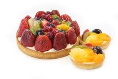 isolerad cakefrukt Royaltyfri Foto