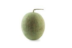Isolerad Cantaloupemelon Royaltyfri Bild