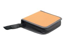 Isolerad cd plånbok arkivbild
