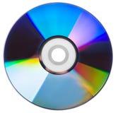 Isolerad CD skiva Arkivfoton