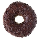 isolerad chokladmunk royaltyfri bild