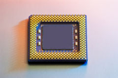 isolerad CPU Royaltyfria Foton