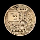 Isolerad Crypto valuta Royaltyfri Fotografi