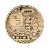 Isolerad Crypto valuta Arkivfoton