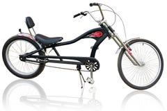 isolerad cykel Royaltyfria Foton