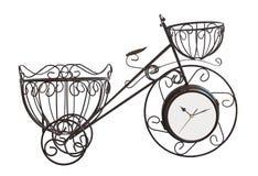 isolerad cykelram Royaltyfria Bilder