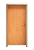 isolerad dörr Arkivbild