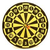 isolerad dartboard royaltyfria foton