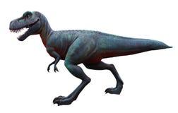 Isolerad dinosaurie Royaltyfria Bilder