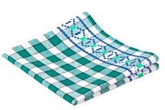 isolerad dishcloth Fotografering för Bildbyråer