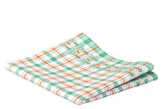 isolerad dishcloth Royaltyfri Bild