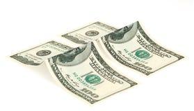 isolerad dollar Arkivfoto