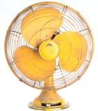 Isolerad elektrisk fan för tappning Royaltyfria Bilder