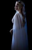 Isolerad Elven flicka Arkivfoto
