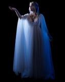 Isolerad Elven flicka Royaltyfria Bilder
