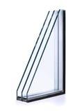 Isolerad fönsterrutor Fotografering för Bildbyråer