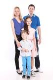 Isolerad familj Royaltyfri Bild