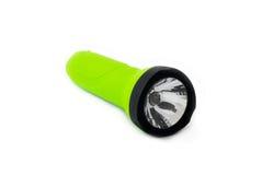 isolerad ficklampagreem Fotografering för Bildbyråer