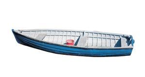 Isolerad fiskebåt Royaltyfri Bild