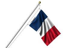 isolerad flaggafransman stock illustrationer