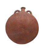 Isolerad forntida egyptisk krukmakeri. Arkivbild
