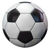 Isolerad fotboll Royaltyfri Foto