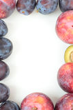 isolerad frukt för ramen 3d framför white Fotografering för Bildbyråer