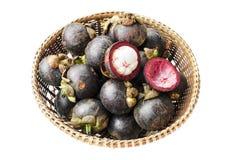 Isolerad frukt på vit bakgrund Fotografering för Bildbyråer