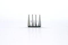 isolerad gaffel Fotografering för Bildbyråer