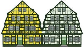 isolerad gammal over whit för lantgård hus Royaltyfri Bild