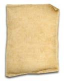 isolerad gammal paper scrollwhite Royaltyfria Foton