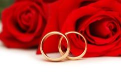isolerad gifta sig white för cirkelro två Arkivbilder