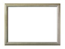 Isolerad grå ram Fotografering för Bildbyråer