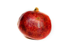 Isolerad granatröttfrukt Royaltyfri Bild