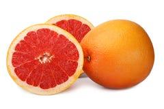 isolerad grapefrukt Royaltyfri Bild