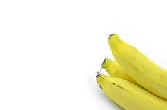 Isolerad gul banan Royaltyfri Foto